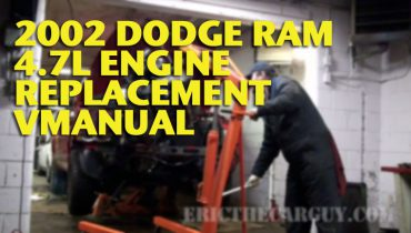 2002 Dodge Engine VManual Wide