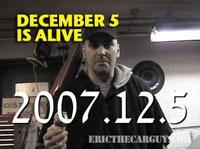 December 5 is Alive sm