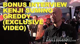 Bonus Interview Kenji Sumino Exclusive Video