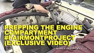 Prepping the Engine Compartment Exclusive Video