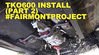 TKO600 Install Part 2