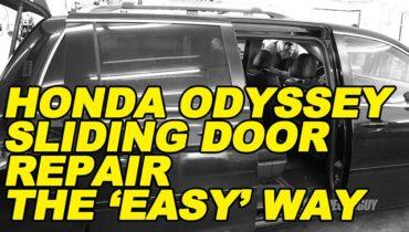 Odyssey Sliding Door Repair the Easy Way