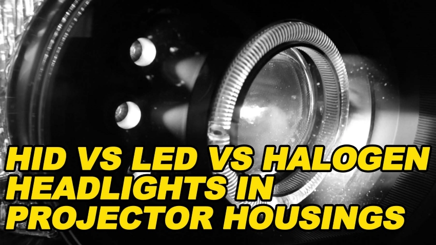 HID vs LED vs Halogen in Projector Housings v2 850