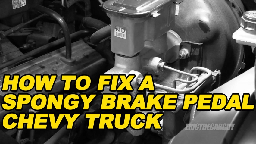 How To Fix a Spongy Brake Pedal Chevy Truck