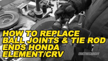 How To Replace Ball Joints Tie Rod Ends Element CRV