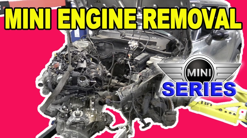 Mini Cooper Engine Removal