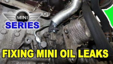 Mini Cooper Oil Leak Repairs