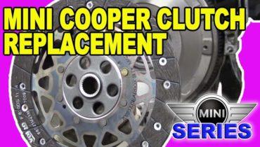 Mini Cooper R56 Clutch Replacement