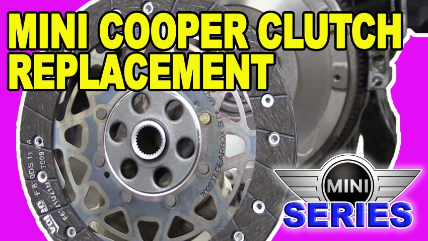 Mini Cooper R56 Clutch Replacement
