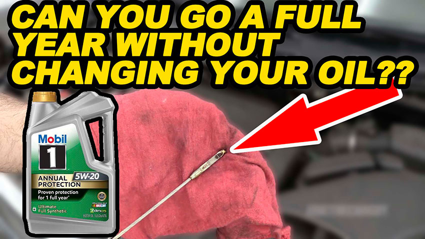 Can You Go a Full Year Without Changing Your Oil