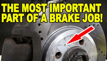 The Most Important Part of a Brake Job