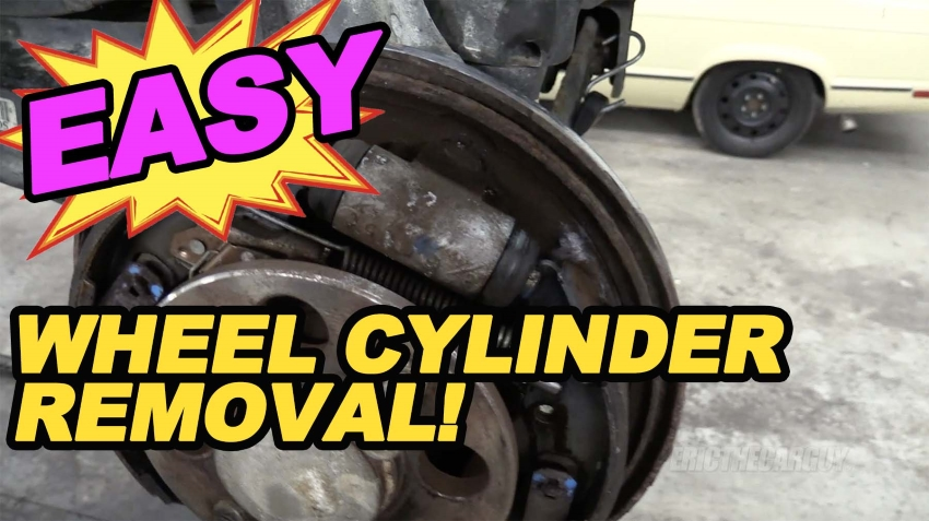 Easy Wheel Cylinder Removal