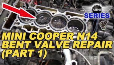 Mini Cooper Bent Valve Repair Part 1