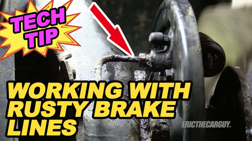 Working With Rusty Brake Lines