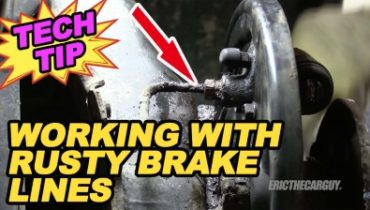 Working With Rusty Brake Lines 400