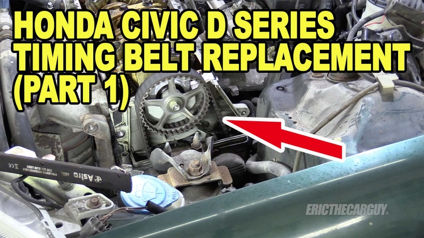 Civic Timing Belt Part 1