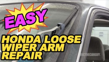 Honda Loose Wiper Repair