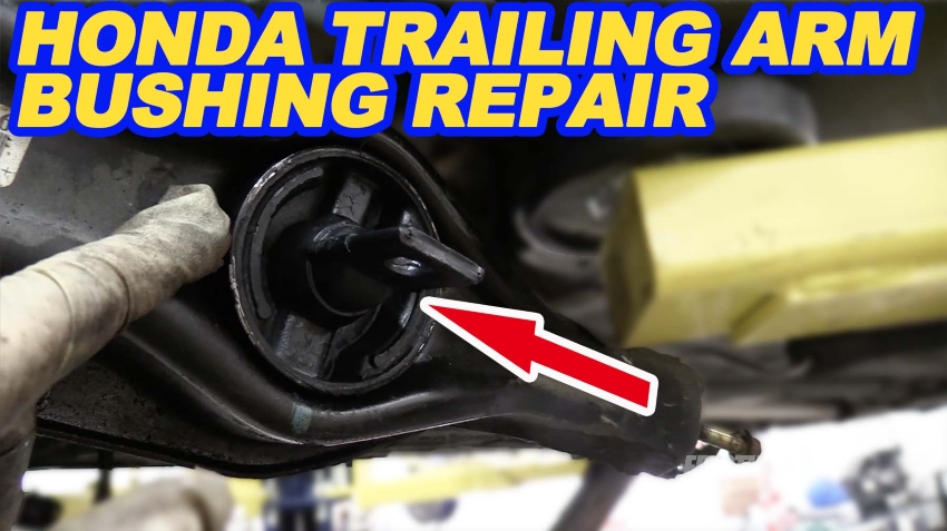 Honda Rear Control Arm Bushing Replacement