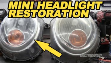 Mini Headlight Restoration