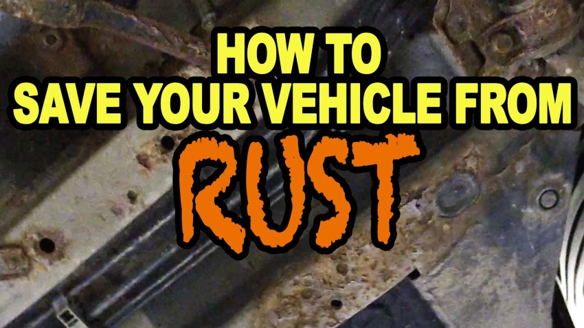 How To Save Your Vehicle From Rust