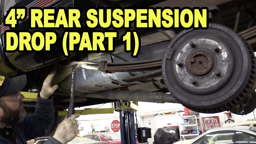 ETCGDadsTruck 4 Rear Suspension Drop Part 1