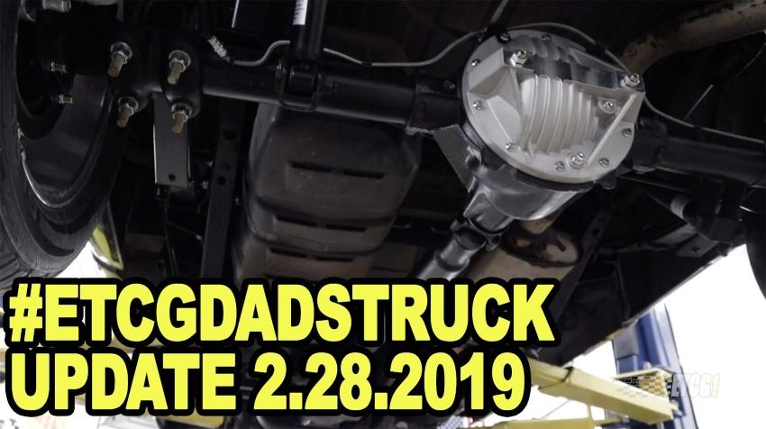 ETCGDadsTruck Update 2.28.2019