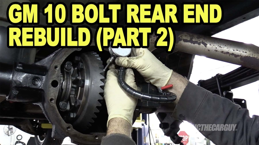 GM 10 Bolt Rear End Rebuild Part 2