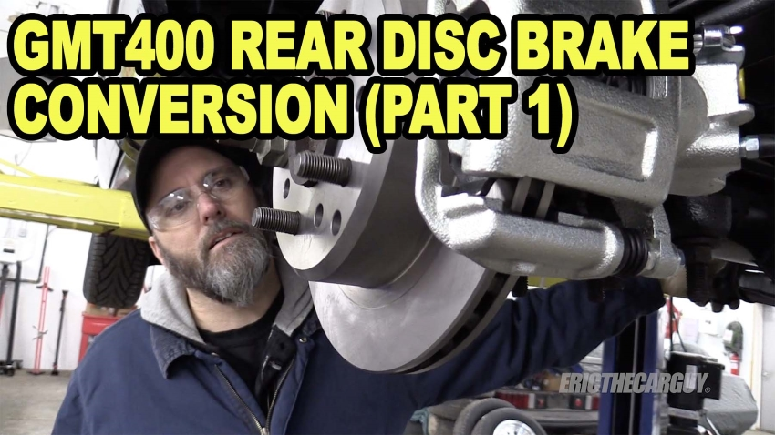 GMT400 Rear Disc Brake Conversion Part 1