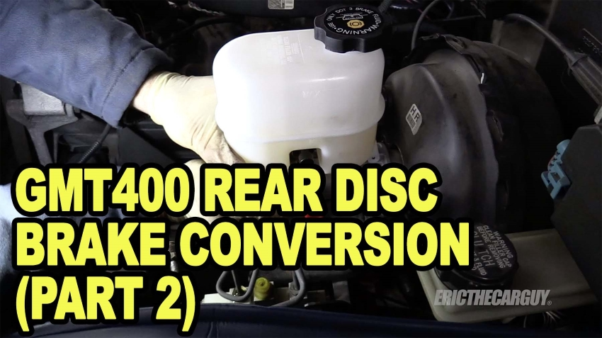 GMT400 Rear Disc Brake Conversion Part 2