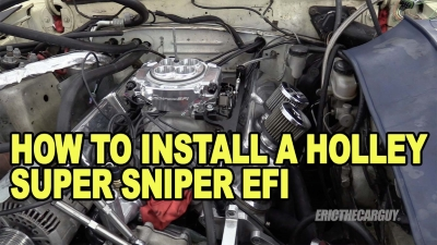 How To Install Holley Super Sniper EFI 400
