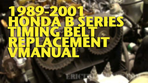 B Series Timing Belt Wide 300