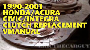 Integra Clutch Replacment VManual Wide 300