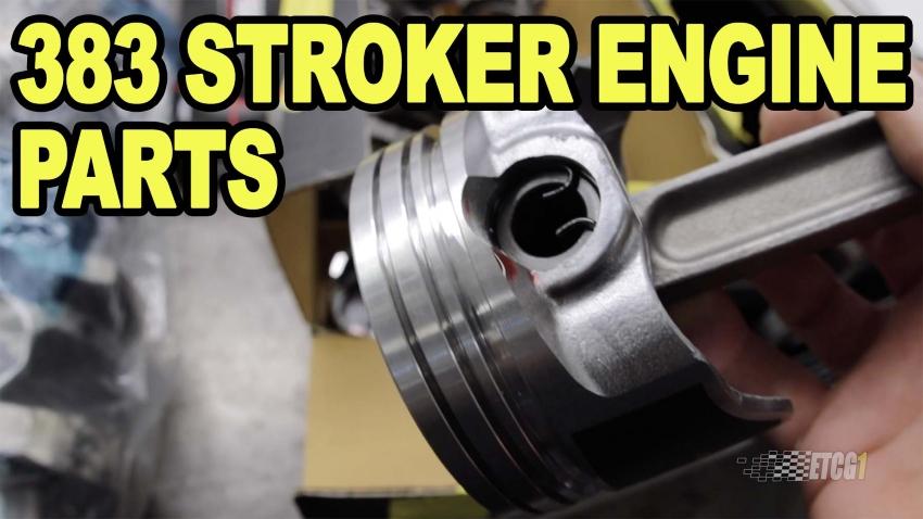 383 Stroker Engine Parts ETCGDadsTruck