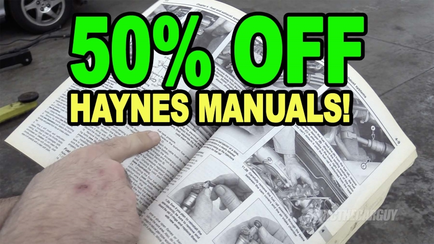 50 Off Haynes Manuals