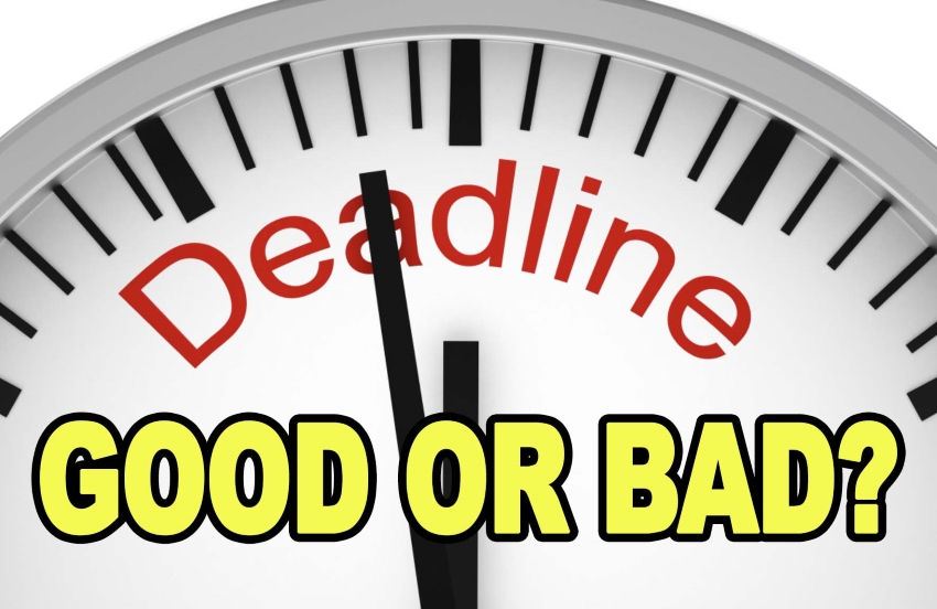 Are Deadlines Good or Bad
