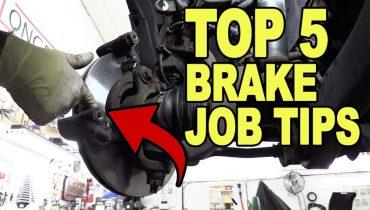 Top 5 Brake Job Tip.2s