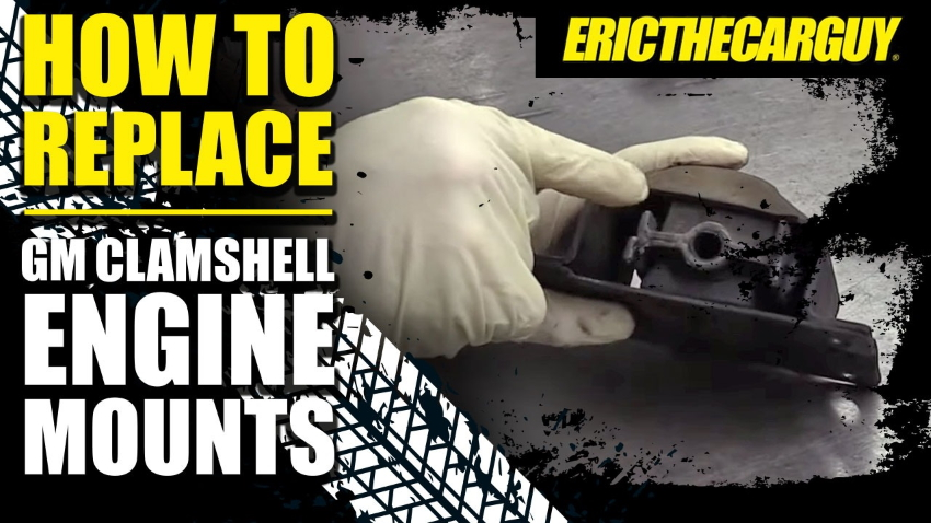 How To Replace GM Clamshell Engine Mounts