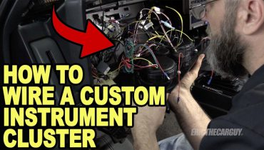 How To Wire a Custom Instrument Cluster