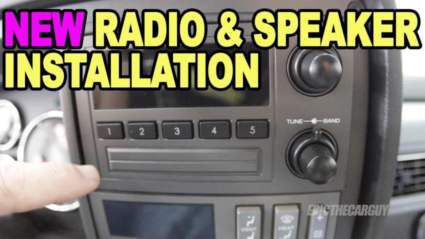 Radio Speaker Installation DadsTruck