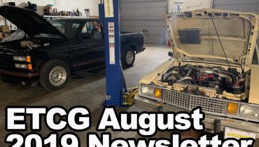 August 2019 Newsletter Placecard