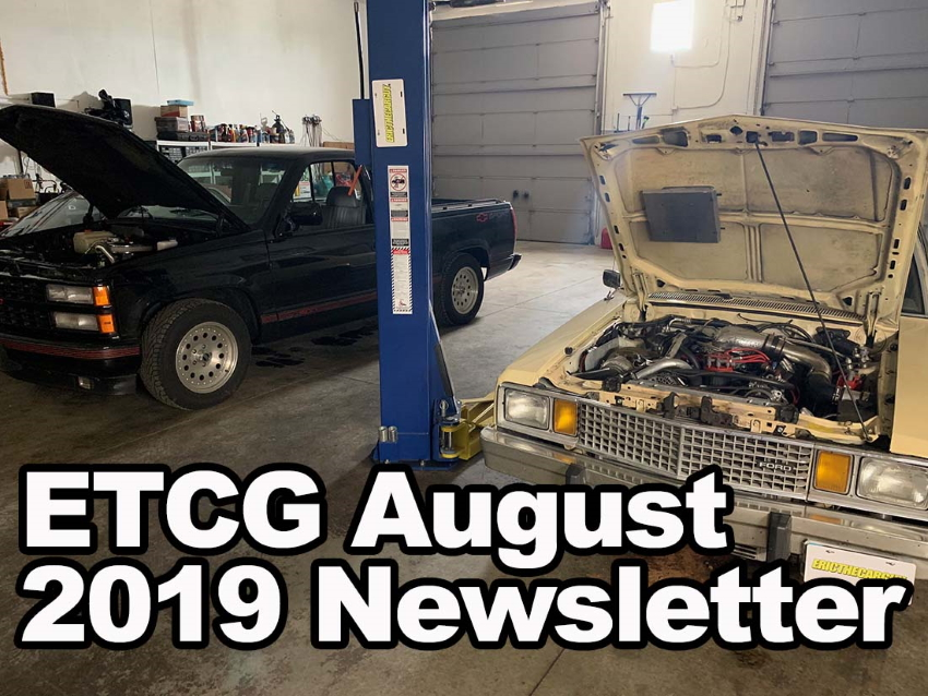 August 2019 Newsletter Placecard