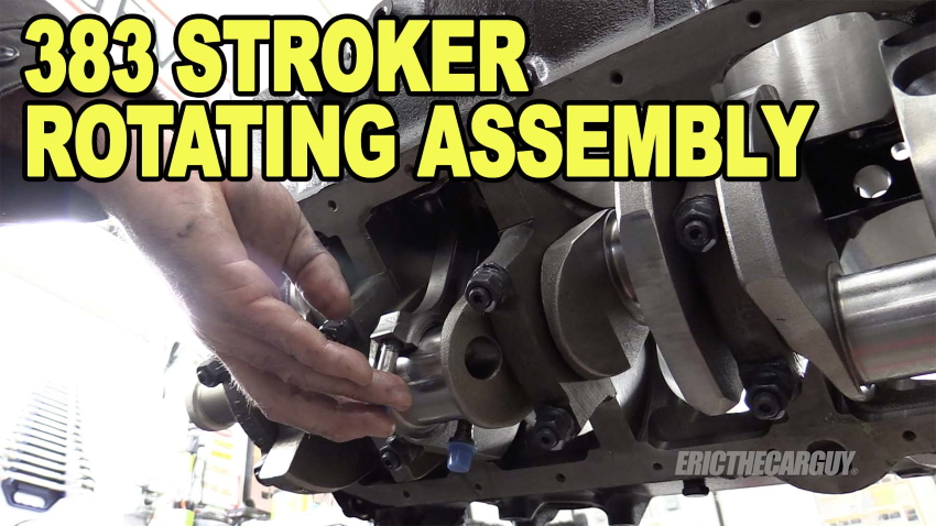 383 Stroker Rotating Assembly