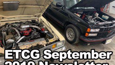 ETCG September 2019 Newsletter
