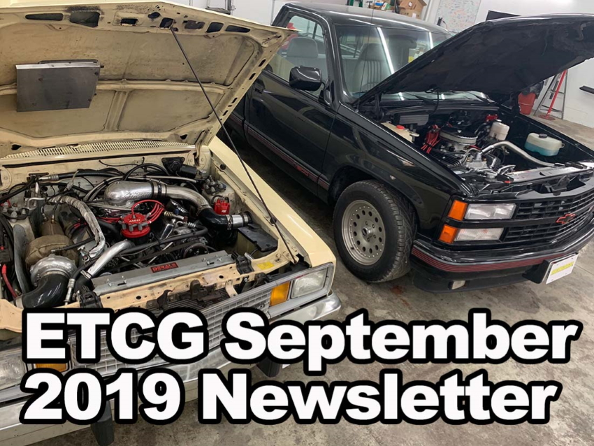 ETCG September 2019 Newsletter