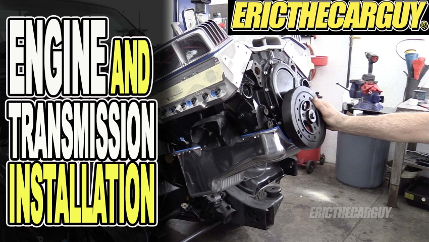 Engine and Transmission Installation