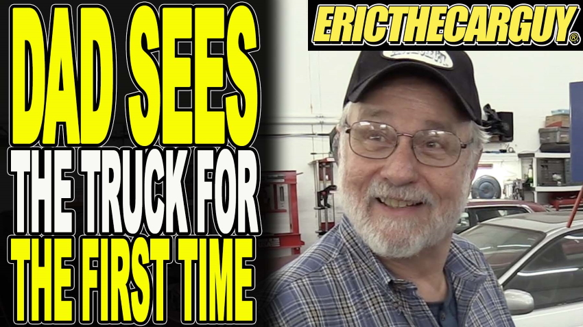 Dad Sees The Truck For The First Time